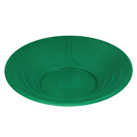 "14"" Plastic Gold Pan Panning Green & Water Guide"