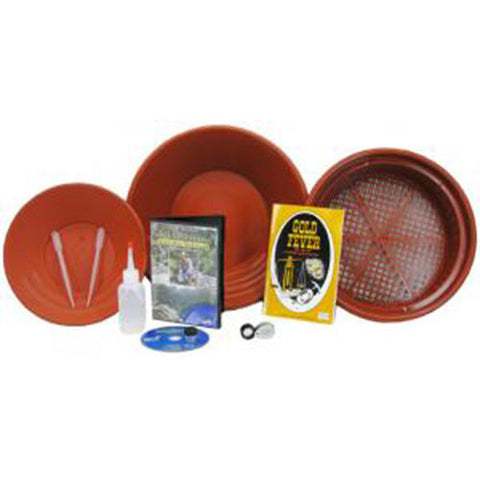 Jobe Gold Buddy Strike It Rich Gold Panning Kit with 2 Archer Gold Pans and More