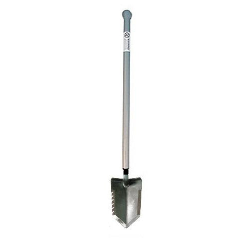 Lesche Sampson Pro-Series Shovel with Ball-Handle and Serrated Edge