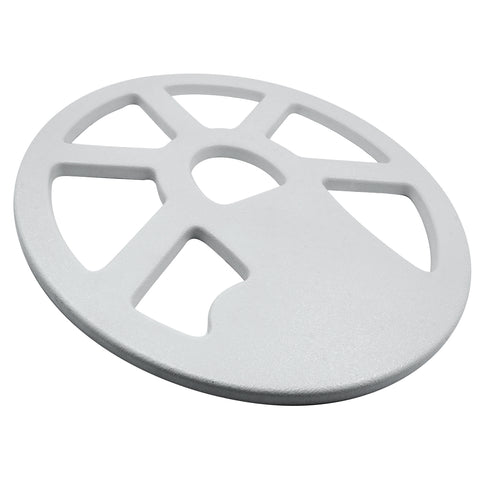 "Tesoro 12 x 10"" Spoked White Concentric Coil Cover"
