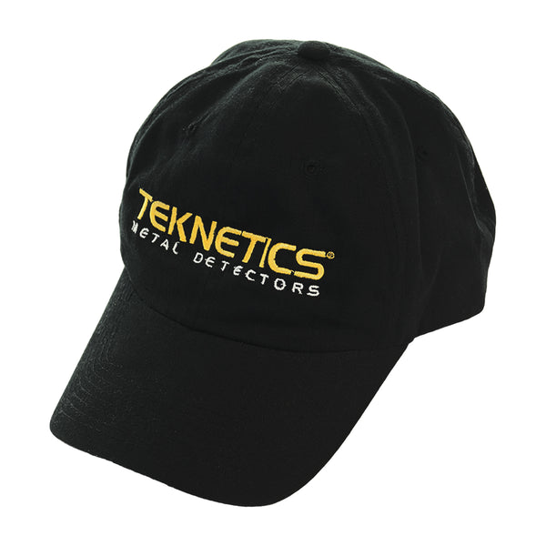 Teknetics Black Baseball Cap One Size Fits All with Fastener Strap