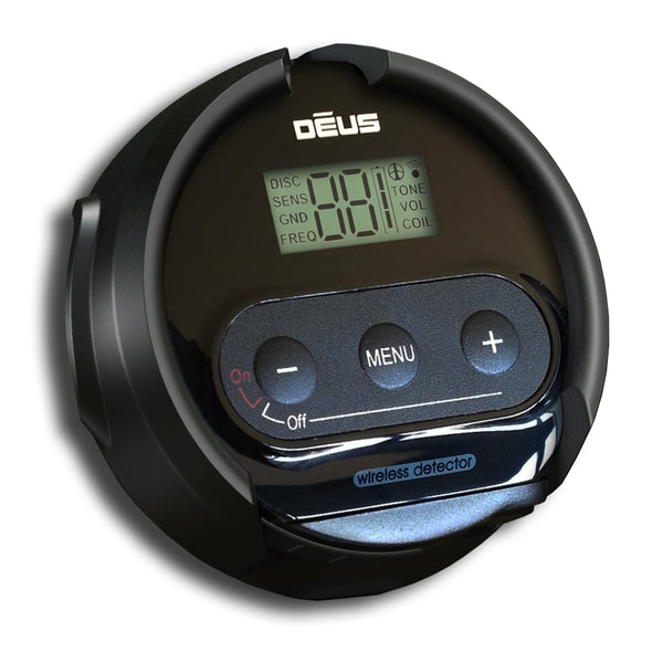 XP Deus Metal Detector WS4 Support Mount Headphone Display to Stem