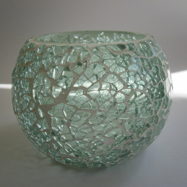 Sparkle Glass Candle Holder