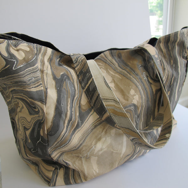 Marbled Tote Bags