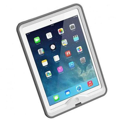 Ipad Air Nuud White Gray