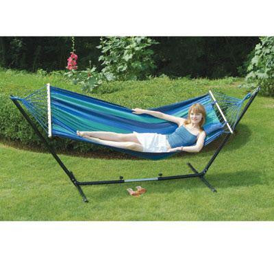 Double Hammock Stand Combo