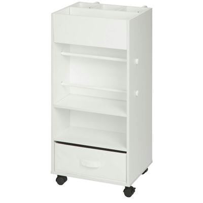 Storage Cart With Fabric Drawer