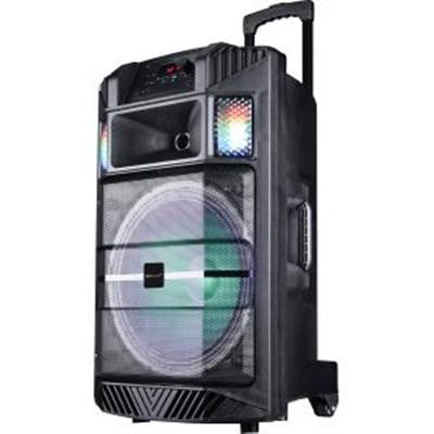 "15"" Port Bluetooth DJ Speaker With Disco"