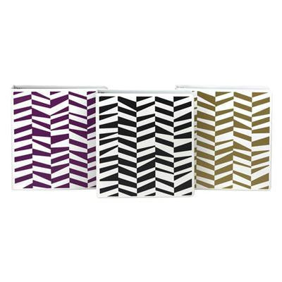 "Fashion Binder Abstract 1"" 6pk"