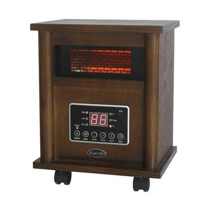 Cg Infared Quartz Heater Wood