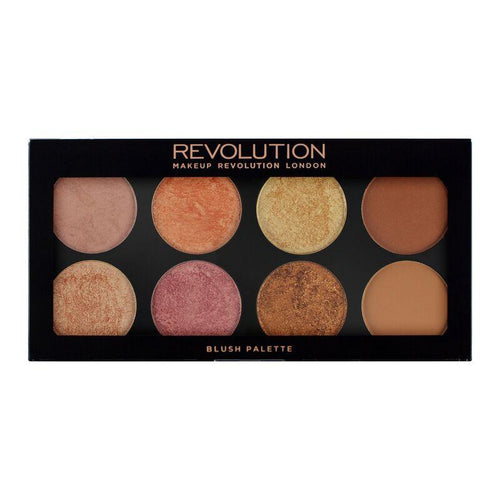 Makeup Revolution Ultra Palette Golden Sugar 2 - Blush, Bronze & Highlight(CLR)