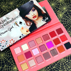 Rude Cosmetics Mean Girl - Blackjack 21 Eyeshadows