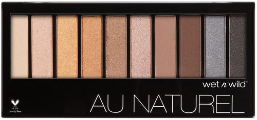 Wet N Wild Color Icon 10-Pan Eyeshadow Palette- Bare Necessities(CLR)