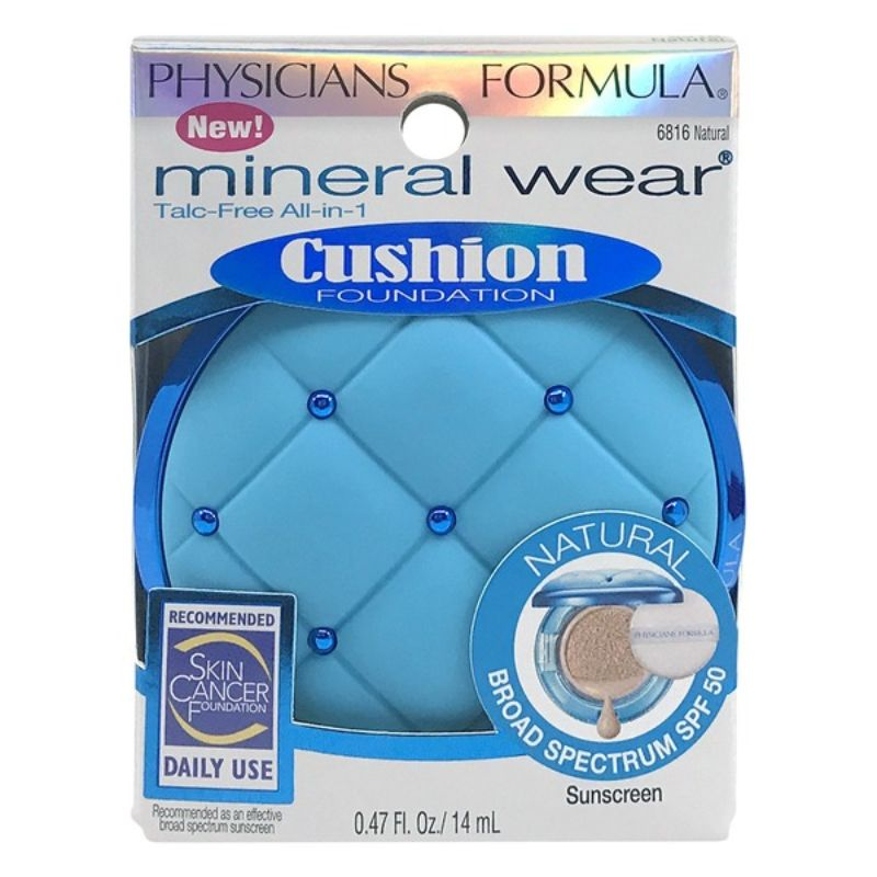 Physicians Formula Mineral Wear Cushion Foundation -Natural
