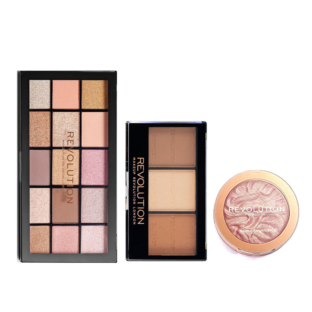 Makeup Revolution X Rachel Leary Goddess On The Go Palette