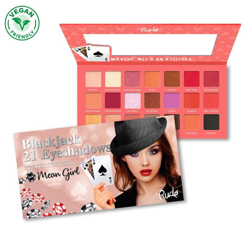 Rude Cosmetics Mean Girl - Blackjack 21 Eyeshadow Palette