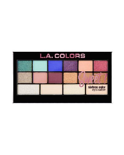 Sweet! 16 Color Eyeshadow Palette Playful(CLR)