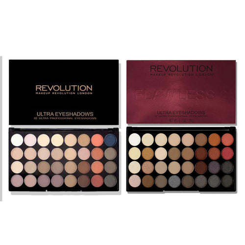Makeup Revolution Flawless 2 and Flawless Matte 2 Eyeshadow Palette