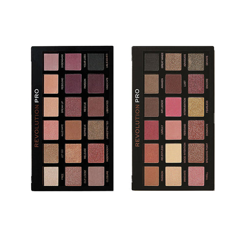 Revolution Pro Regeneration palette - Unleashed + Revelation (CLR)