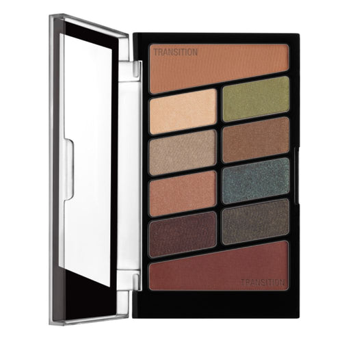 Wet n Wild Color Icon Eyeshadow 10 Pan Palette - Comfort Zone(CLR)