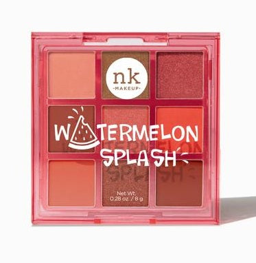 Nicka K Pop Neon Nine Color Palette - Watermelon Splash
