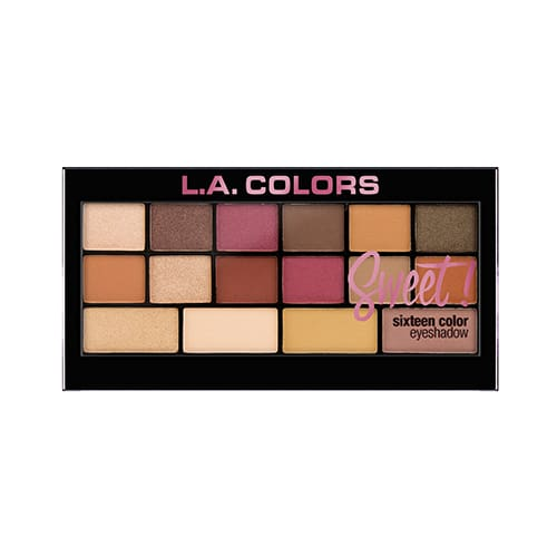 L.a. Colors 16 Color Eyeshadow Palette - Brave - Makeup