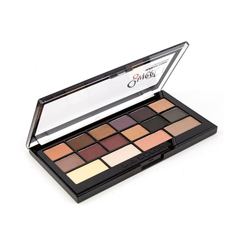 L.a. Colors 16 Color Eyeshadow Palette - Seductive - Makeup
