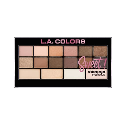 L.a. Colors 16 Color Eyeshadow Palette - Charming - Makeup