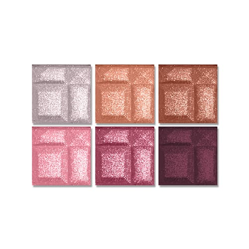 L.a. Colors 6 Color Eyeshadow Palette Delicate - Makeup
