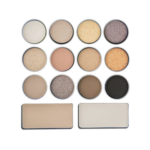 L.a. Colors I Heart Makeup Eyeshadow Palette Darling Nudes - Makeup