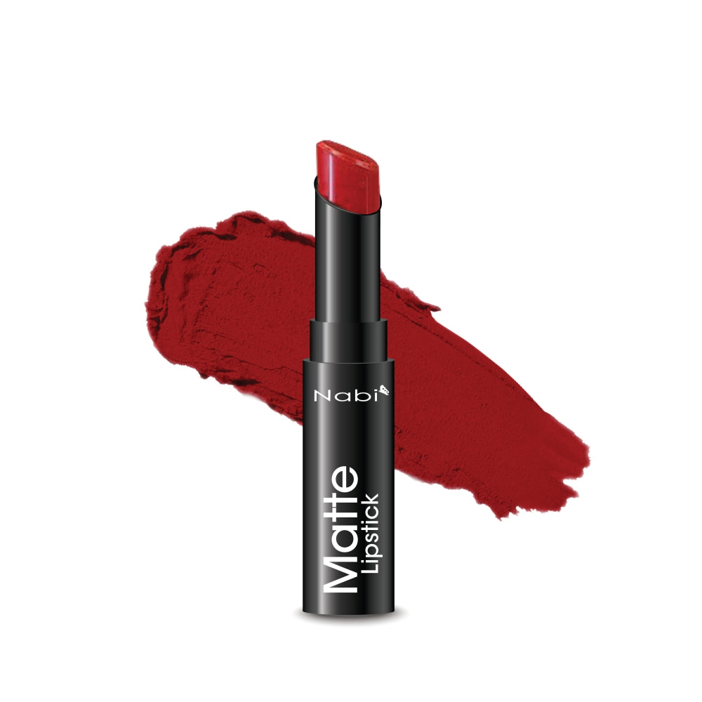 Nabi Cosmetics Matte Lipstick - Bright Red
