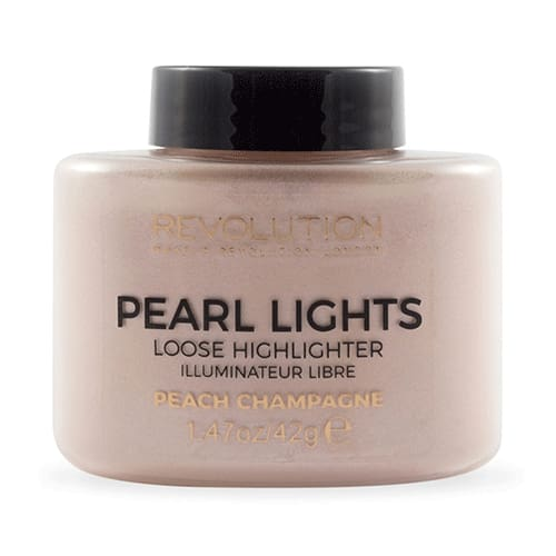 Makeup Revolution Pearl Lights Loose Highlighter - Peach Champagne - Makeup