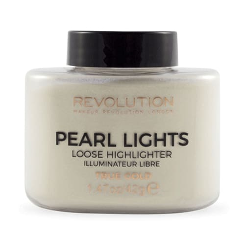 Makeup Revolution Pearl Lights Loose Highlighter - True Gold - Makeup