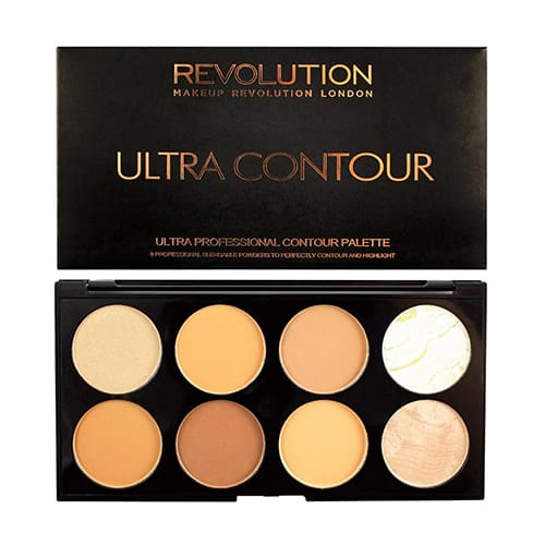 Makeup Revolution Ultra Contour Palette Medium Dark - Makeup