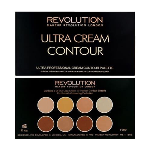 Makeup Revolution Ultra Cream Contour Palette - Makeup