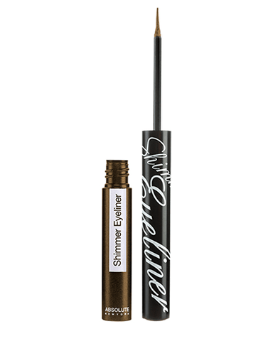 ABSOLUTE NEW YORK SHIMMER EYELINER - GLITTER BROWN