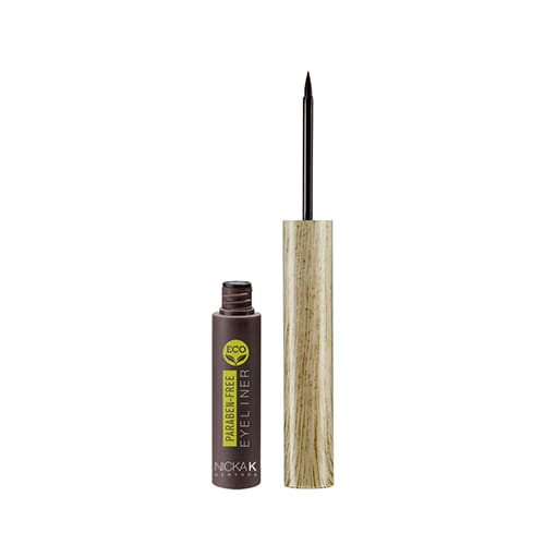 Nicka K Eco Eye Liner - Brown - Makeup