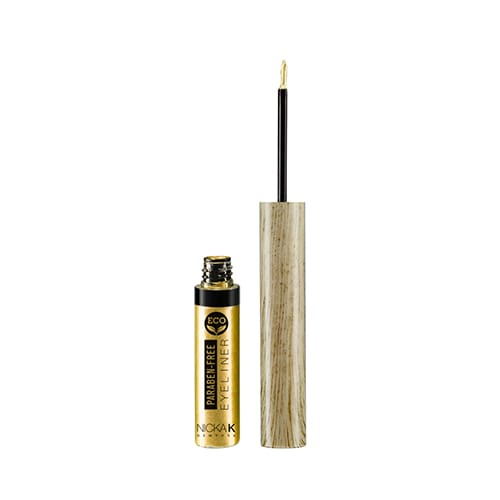 Nicka K Eco Eye Liner - Metal Gold - Makeup