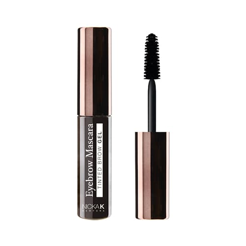 Nicka K Eyebrow Mascara - Black Brown - Makeup