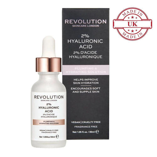 Makeup Revolution Skincare Plumping And Hydrating Serum - 2% Hyaluronic Acid(CLR)