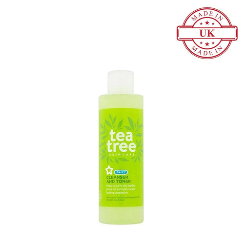 Superdrug Tea Tree Cleanser Toner 200ml
