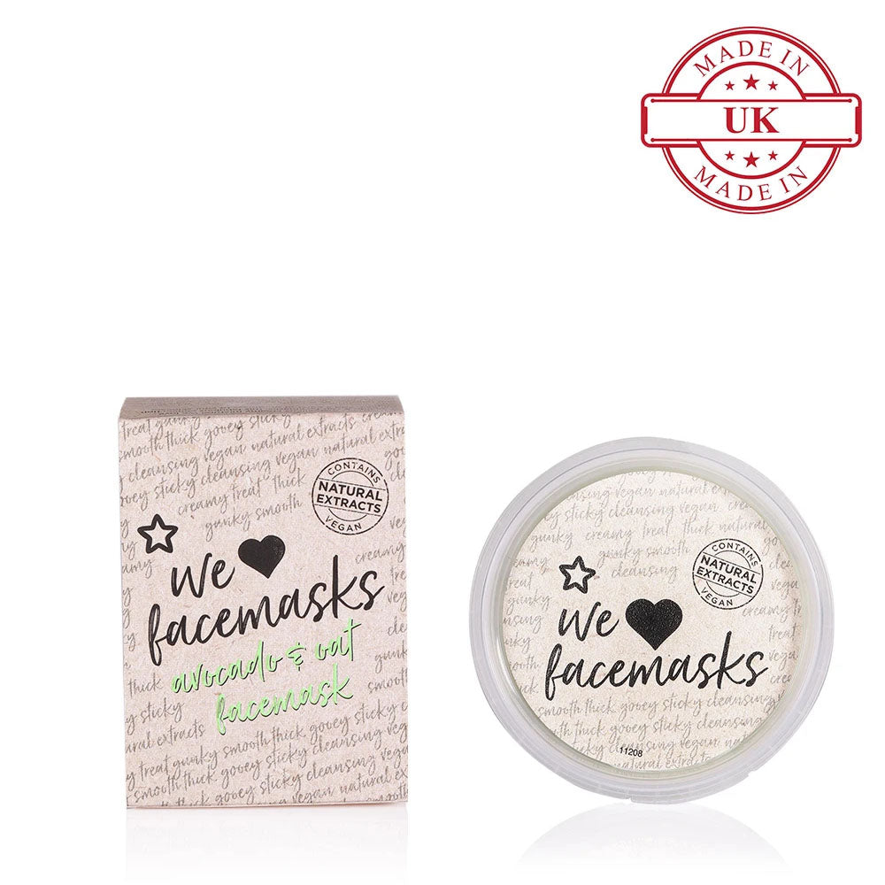 Superdrug Avocado and Oat Face Mask 75ml