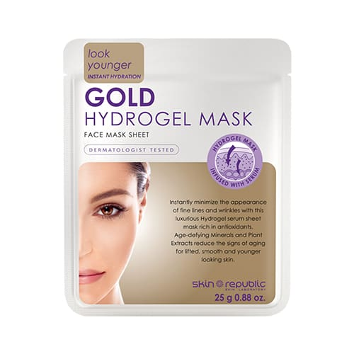 Skin Republic Gold Hydrogel Face Mask Sheet - Skincare