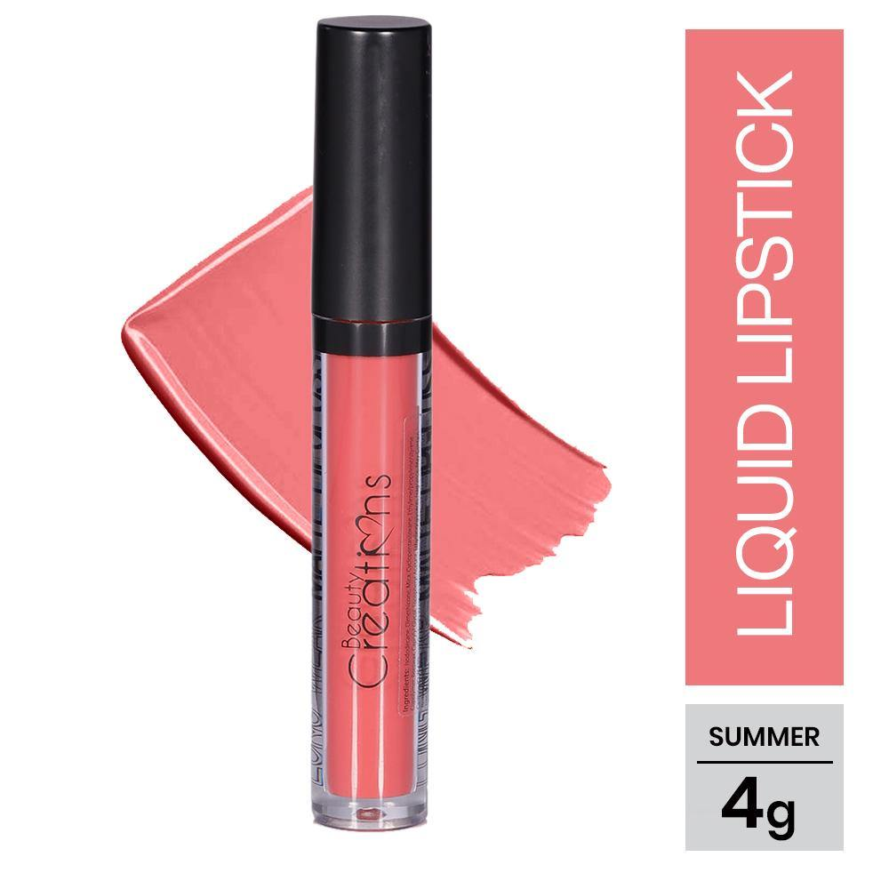 Beauty Creations Long Wear Matte Lip Gloss - Summer