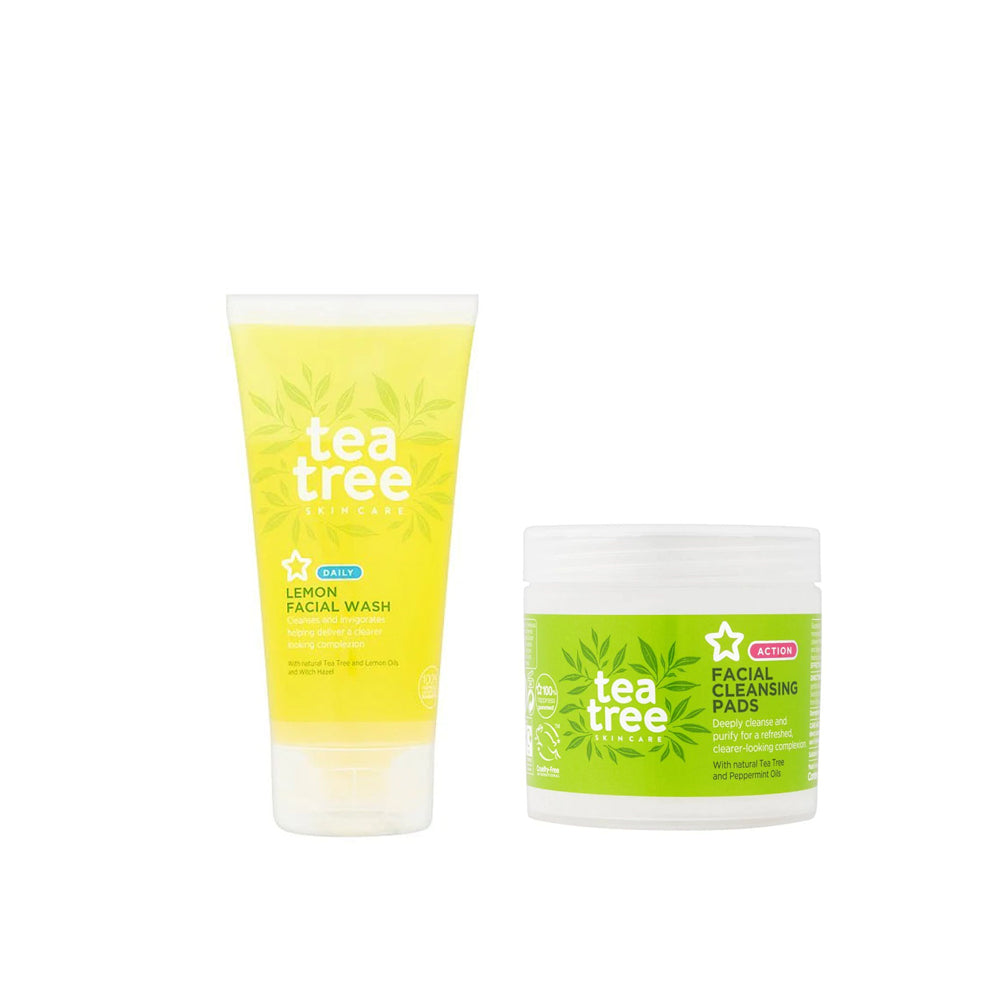Superdrug Tea Tree Cleansing Kit