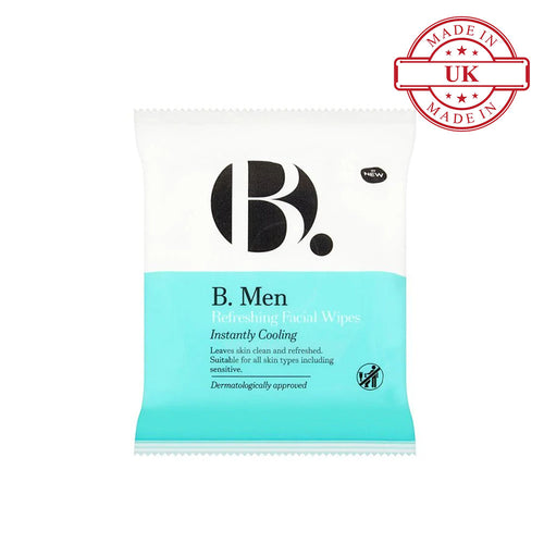 Superdrug B. Men Refreshing Wipes X25