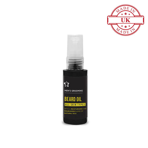 Superdrug Mens Beard Oil 50ml