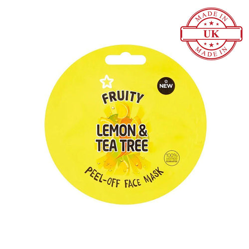 Superdrug Fruity Lemon and Tea Tree Peel Off Face Mask 10ml