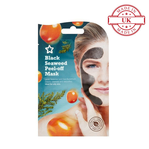 Superdrug Black Seaweed Peel Off Mask 10ml