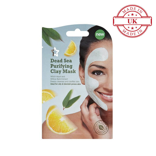 Superdrug Dead Sea Purifying Clay Mask 10ml